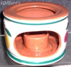 STANGL FRUIT CANDLE CHINA WARMER - $24.95