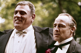 Marlon Brando and Lenny Montana in The Godfather at wedding 18x24 Poster - $23.99