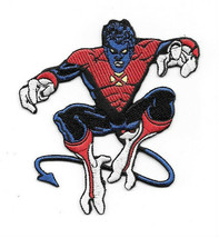 Marvel Comics X-Men Nightcrawler Leaping Figure Embroidered Patch, NEW UNUSED - $7.84