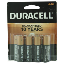 Duracell AA Batteries Pack of 8   - $11.07