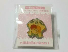 Little Twin Stars Pin Badge Old SANRIO 2005' Vintage 30th anniversary Li... - $21.51