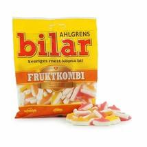 Ahlgrens Bilar FRUGTKOMBI 125g Made in Sweden-FREE SHIPPING- - $7.77