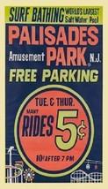 Palisades Amusement Park - New Jersey -  Magnet #3 - $5.99