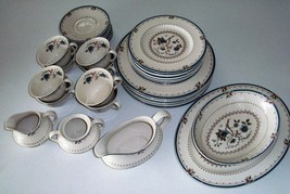 Royal Doulton Old Colony 37 Piece Dinnerware Set - $399.98