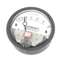 DWYER 12-166981-00 MAGNEHELIC PRESSURE GAUGE 15 PSIG MAX, 0-140, 1216698100 image 1