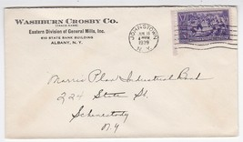 WASHBURN CROSBY CO. EASTERN DIVISION OF GENERAL MILLS JOHNSTOWN, NY 6/17... - $1.78