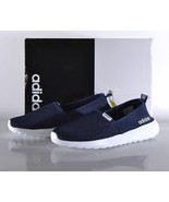 Adidas Women's Cloudfoam Lite Racer Slip-On Running Shoes - Navy New! - $34.99