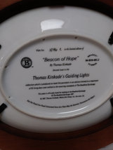 Beacon of Hope by Thomas Kinkade Wall Plaque Plate Number 1096 C  Plate image 4
