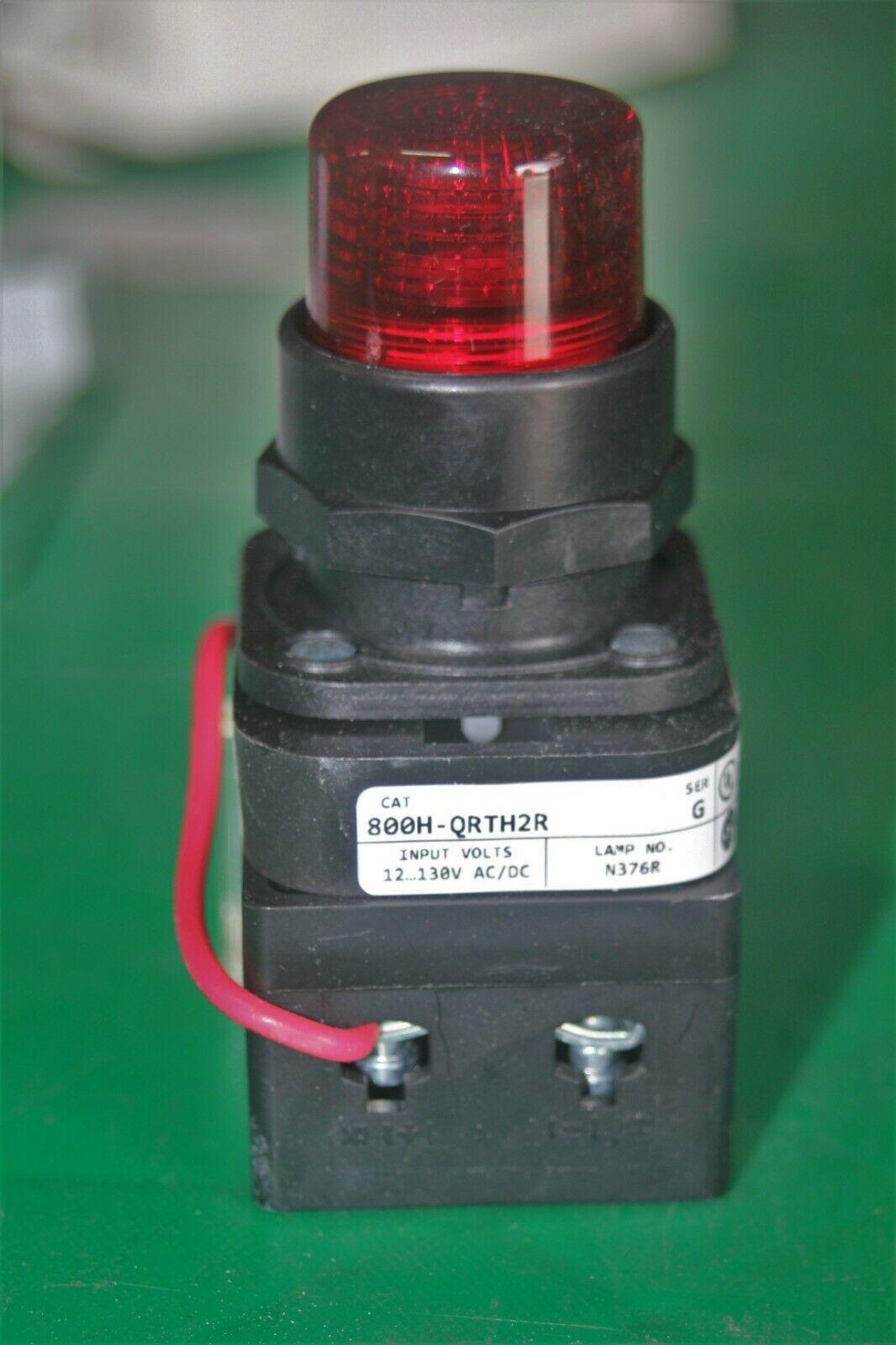 Allen Bradley 30MM Bulletin Pilot Light 800H-QRTH2R image 4