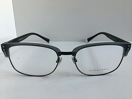 New Burberry 5322 3640 54mm Grey Black Clubmaster Men's Eyeglasses Frame... - $149.99