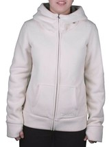 Bench Womens Seedpearl Needful Zip Thru Hooded Fleece Jacket Hoodie BLEA3384 NWT