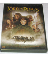 The Lord of the Rings The Fellowship of the Ring DVD 2002 2-Disc Set Ful... - $6.97