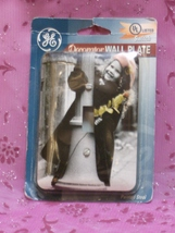 GE Little Girl Child in Beret Switch Wall Plate Single - $6.99