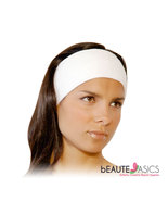 Stretchable Velcro Cotton Spa Headband 3