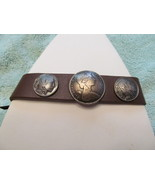 THE LOOK OF COIN'S ON LEATHER - $5.00