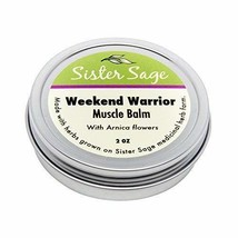 Weekend Warrior, 100% All Natural Sore Muscle Balm with Arnica, Unscented 2 oz