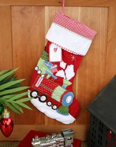 POTTERY BARN KIDS QUILTED TRAIN STOCKING – GET ON TRACK FOR SOME HOLIDAY... - $39.95