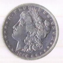 1884-O Morgan Silver Dollar - $49.00