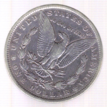 1884-O Morgan Silver Dollar image 2