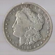 1901-O Morgan Silver Dollar - $45.00