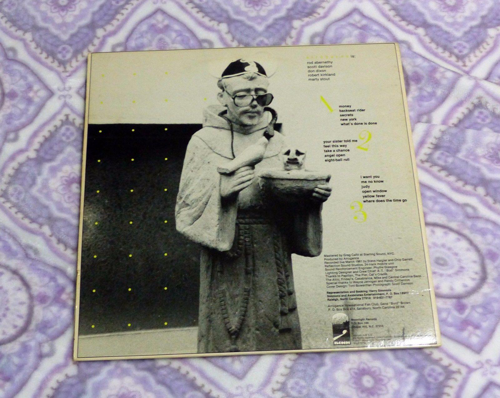 Arrogance Lively LP Vinyl Record Live Recording 03/1981 On 24 Track Mobile Unit