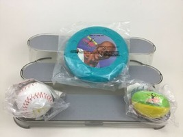 McDonald's Fitness Fun Lot 3pc Happy Meal Vintage 1991 Sports Jordon Toy... - $10.84