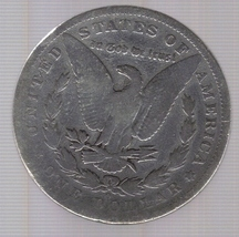 1896-O Morgan Silver Dollar image 2