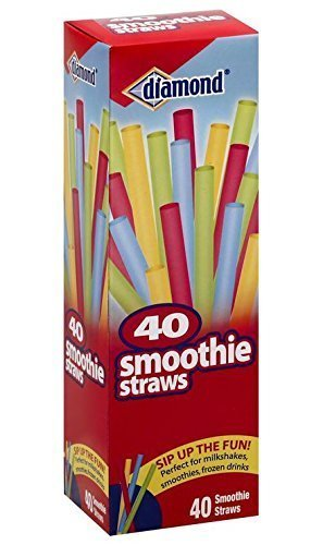 40CT Smoothie Straws