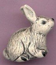 Ceramic Bunny Rabbit Bead - $5.00