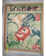 FORTUNE MAGAZINE AUGUST 1937 INTERNATIONAL TRACTOR SEMI TRUCK MUST SEE - $74.89