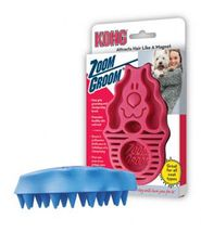 Kong Zoomgroom Rubber Brush Raspberry - $13.71