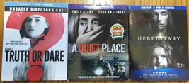 Blu-ray Horror New Release lot A Quiet Place, Truth or Dare, Hereditary