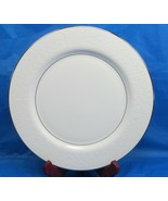 "6 Mikasa Bridal Veil 10 1/4"" Dinner Plate/s Pristine Condition Bundle of 6 - $54.32"