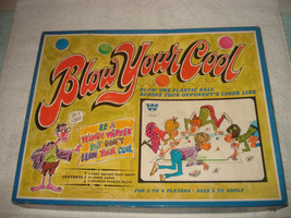 Vintage 1969 Blow Your Cool Game Complete Nice - $29.99