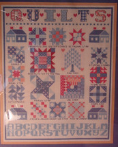 "Janlynn Counted Cross Stitch Kit ""Quilts Sampler"" 14""x 16"" - $7.99"