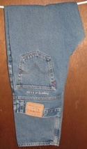 Men's Levi Strauss 550 Relaxed Fit Blue Jeans 36 x 34  - $13.99