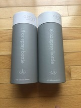 (2) Grove Collaborative 16 oz Spray Bottles With Silicone Sleeve Mint an... - $24.75
