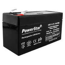 12V 1.3Ah SLA Battery  AGM replaces UB1213 12 volt by Powerstar USA SUPE... - $15.79