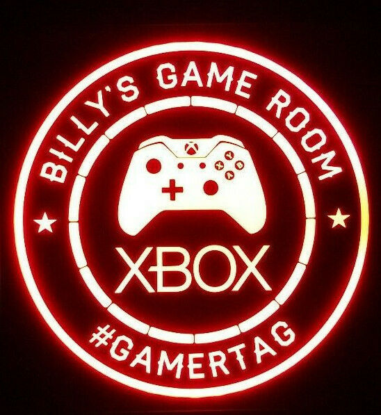 Primary image for Xbox Gamer LED Sign Personalized, Xbox PS4
