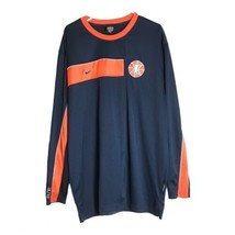 Nike Dri Fit U of Illinois Basketball Blue Long Sleeve Shirt Size Men's XXL - $21.99