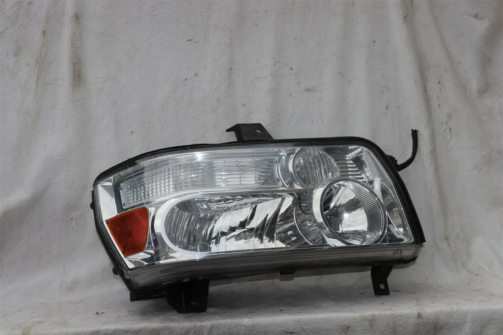 04-10 Infiniti QX56 Xenon HID Headlight Head Light Passenger RH - POLISHED