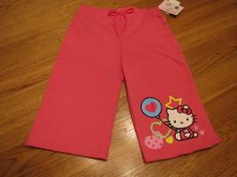 Girls Hello Kitty HK55178 active pants yoga 5 pink NWT 24.^^ - $8.00