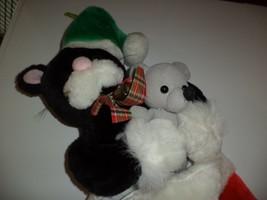 Cat & Mouse Plush Christmas Stocking - $19.99
