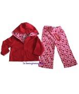 NWT Gymboree FULL OF HEART Pants Hoodie Jacket 18 24 M - $18.99