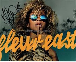 FLEUR EAST AUTOGRAPH *LOVE, SAX AND FLASHBACKS (A)* HAND SIGNED 10X8 PHOTO - $16.16