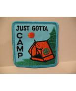Just Gotta Camp Girl Guides Souvenir Badge Patch Crest - $4.99