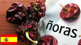 Quality Dried Spanish Peppers Paprika Ñora Nora Gourmet Spices of the World - $10.99