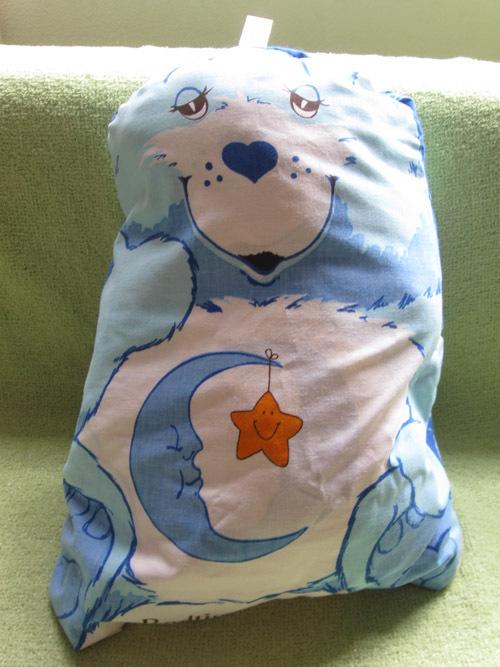 CARE BEARS BEDTIME BEAR Snoozle 1983 SLEEPING BAG PLUSH ...