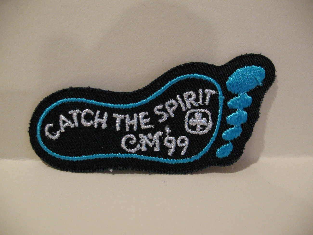 Catch The Spirit Girl Guides Souvenir Badge Patch Crest