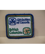 British Columbia Girl Guides Souvenir Badge Patch Crest - $4.99